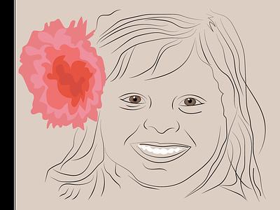 little girl design creative illustration art illustrations illustration illustrator