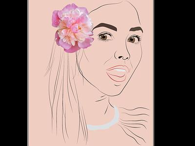 flower line art linework illustration art illustrations illustrator design vector creative