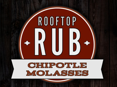 Rooftop Rub -  Chipotle Molasses bbq red banner