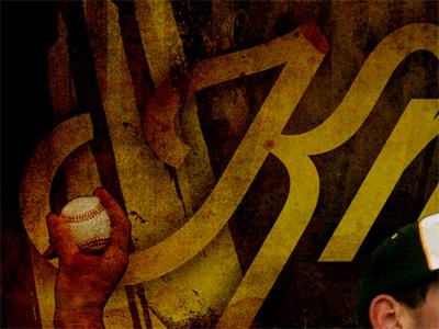 Athletic Program baseball gold texture photoshop losttype wisdom-script