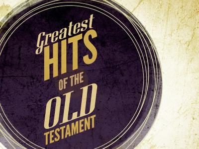 Greatest Hits purple texture retro