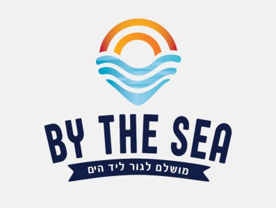 by the sea logo by eyal segal sun sea creative brand identity branding design branding graphic design logo logo graphic designer graphic design eya  segal design