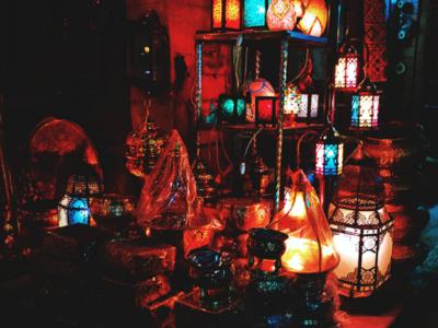 Moez Street in Cairo photography   photo editor