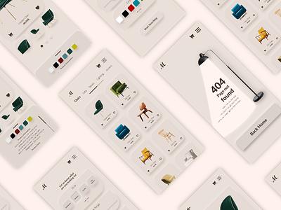 Daily UI 12   E-Commerce Shop shopping ecommerce appdesign furniture design daily ui ui adobe dailyui app adobexd xd uidesign