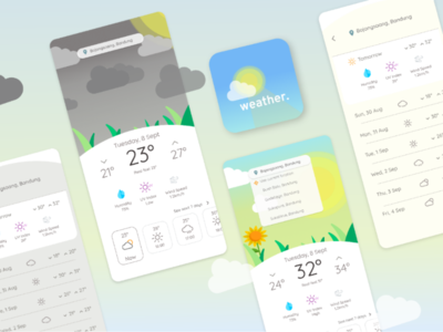 More About WeatherApp challenge mobileapp weatherapp weather logodesign logo uxdesign uidesign ux ui