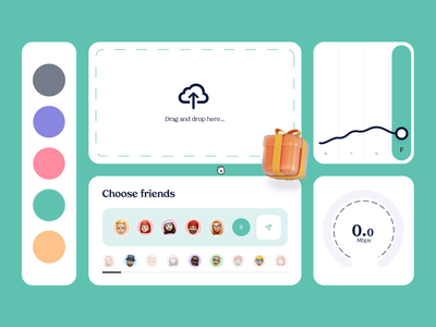 Transfer Platform - UI KIT Animation transfer after effects ux micro animation graphic design