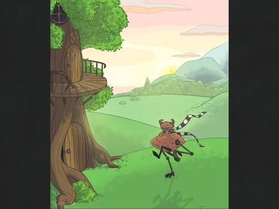 Illustration original character oc digital illustration treehouse character design characterdesign digitalart digital art illustration art