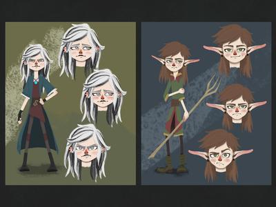 Character Design elf character art original character oc character design characterdesign digital illustration digital art digitalart illustration art