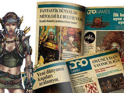 dao games pr event magazine design design typography print design print