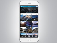 Instagram Redesign iOS 8