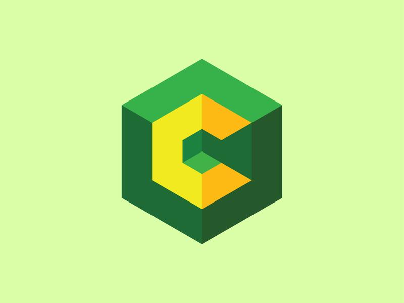 Crypto Trend Logo flat illustration branding vector design logo