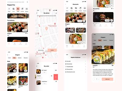 Food delivery app ux food app food and drink food design delivery app delivery application app