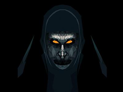 The NUN movie vectors vector illustration scary horror nun thenun