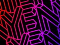 New Years Eve Club Night - Geometric pattern
