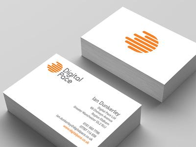 Digital Pace Business Card vector icon logo design typography vectors design illustration logo printing graphic design branding