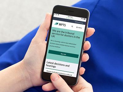 MPTS Website Design On Phone mobile app digital charity typography geometric vector design logo design illustration logo printing graphic design branding