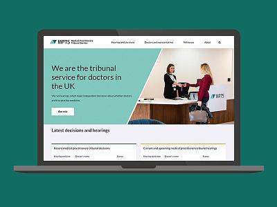 Medical Practitioners Tribunal Court - website design digital website vectors geometric design logo design logo graphic design branding