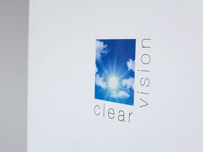 Clear Vision Logo printing logo design logo graphic design branding