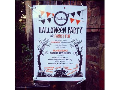 Pavilion Halloween Poster charity vector poster geometric vectors design illustration logo design printing logo graphic design branding
