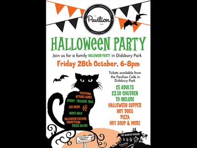 Pavilion Halloween charity typography vector poster geometric vectors design logo illustration logo design printing graphic design branding