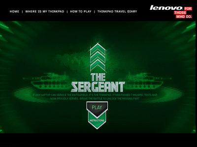 Lenovo- Sergeant game