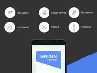 Origin Android App