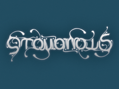 9Tomorrows Ambigram ambigram