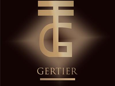 Gertier ( Luxury Fashion Theme Logo) luxury fashion graphic design logo illustration design