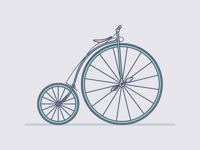 Penny Farthing design vector penny farthing farthing penny old cycling bicycle bike illustration
