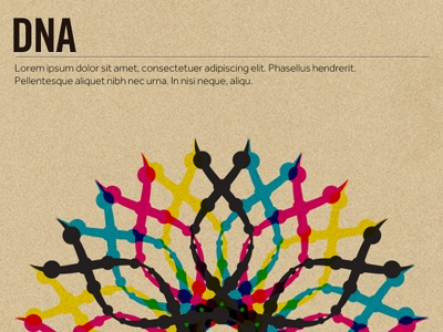 DNA rev2 overlay poster trade gothic