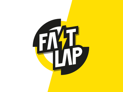Fast Lap safety lap fast challange electric cars ev symbol logotype cars moto sport fast lap