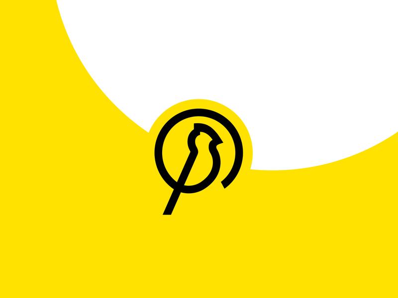 early bird identification geometric vector line bird early symbol logo