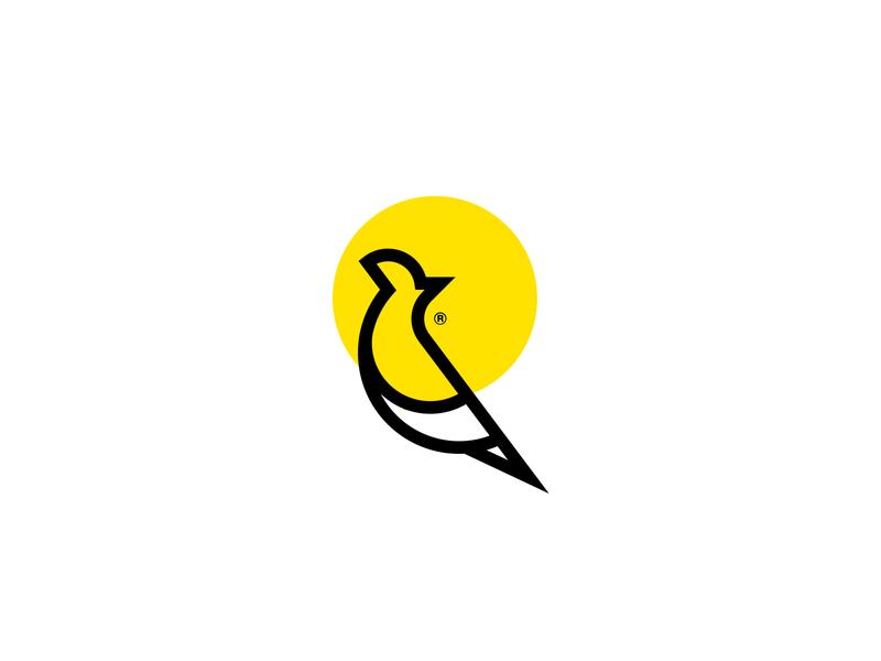 Early Bird 2 app vector illustration branding simple identification geometric design symbol logo