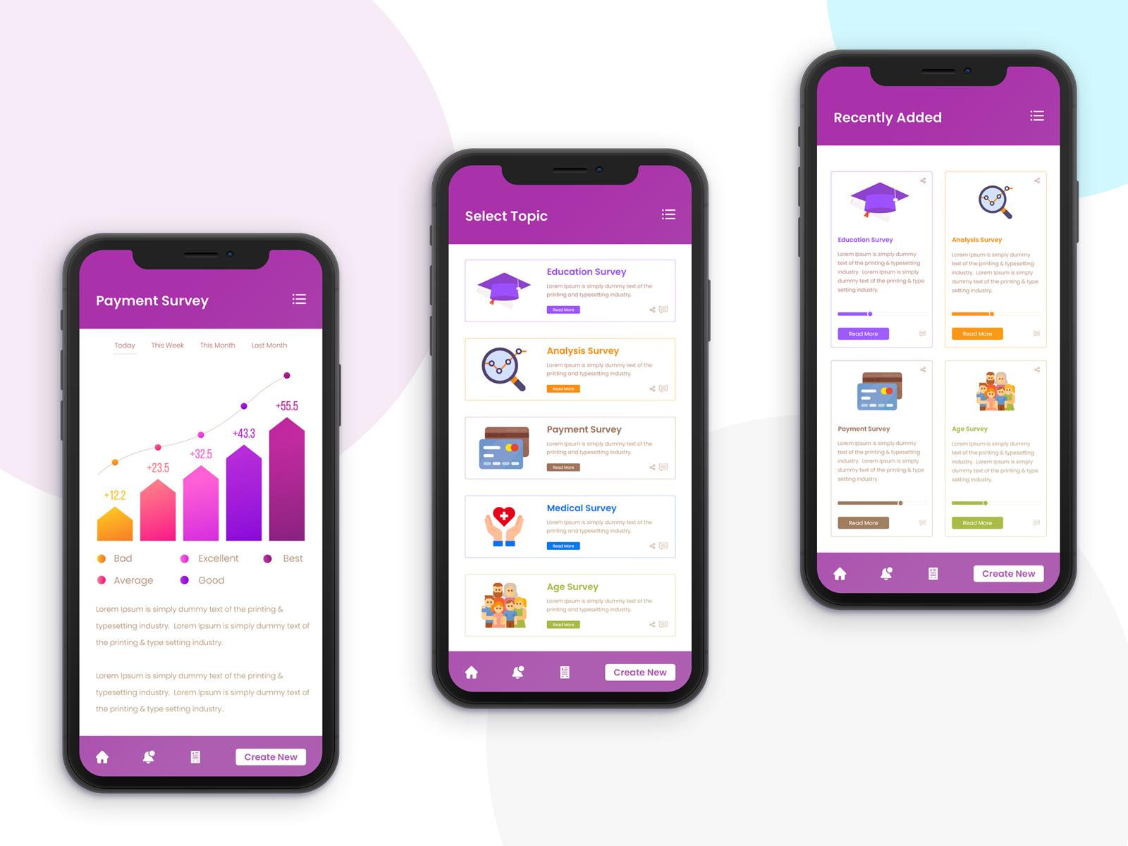 Survey App Design | Mobile App Development Company