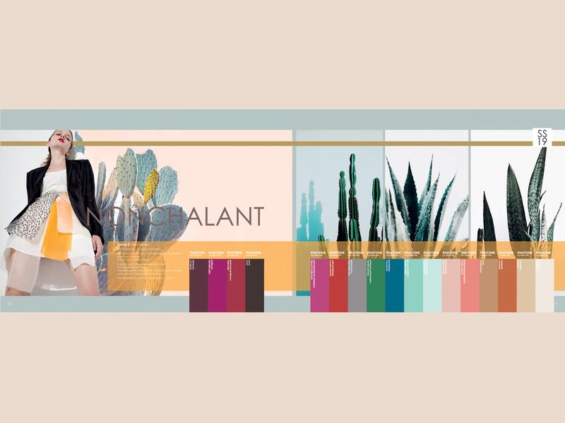 NONCHALANT PANTONE TRENDBOOK SPRING\SUMMER 2020 color trend fashion fashion design pantone