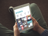 Tubik Website iPad version