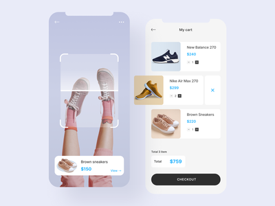 Shoes app (Part 2) adidas nike best design clean design clean ui ui design uiux shoes design shoes app shoes ux design branding art mobile app design typography mobile design app ux ui design