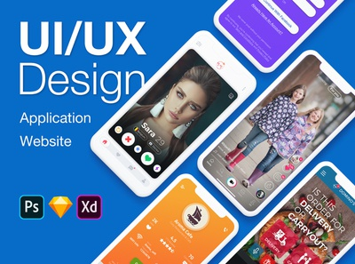 ui ux design application and website web design app design mobile design ui ui design ui designer