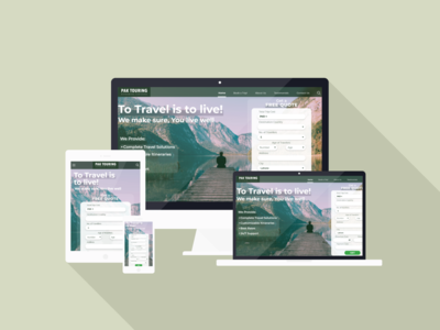 PakTouring- Registratio Form Landing Page illustration website web ux ui typography minimal logo icon design branding
