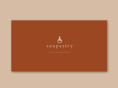 soapestry health ux ui animation minimal logo web design beauty soap illustration branding website design