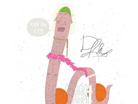 Dennis Rodman, 'The Worm' #AthleteObjects
