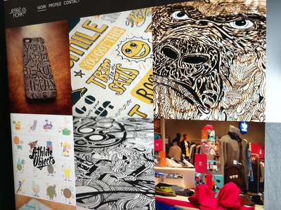 FINALLY UPDATED JHDC! design illustration art art direction lettering lots of work motherfuckers sheesh