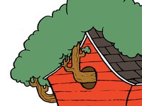 Doghouse Treehouse