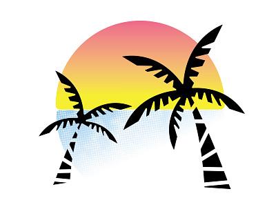 Hang Loose folks, I sure have been! life vector sunset vibez beach vibe print silkscreen screenprint letterpress design looklessmakemore