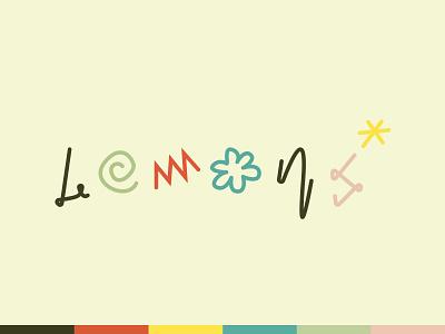 lil lemon stand graphic design branding warm-up kids lemons dribbble illustration logo