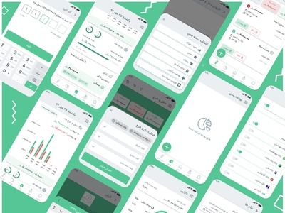 Financial App design app ux ui