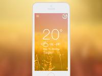 Weather UI/UX