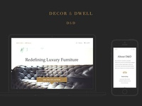 Decor & Dwell Branding & Site Design