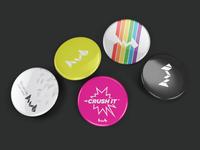 Crush It - HUB Studio Buttons