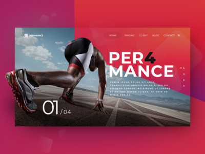 Sport Performance Website